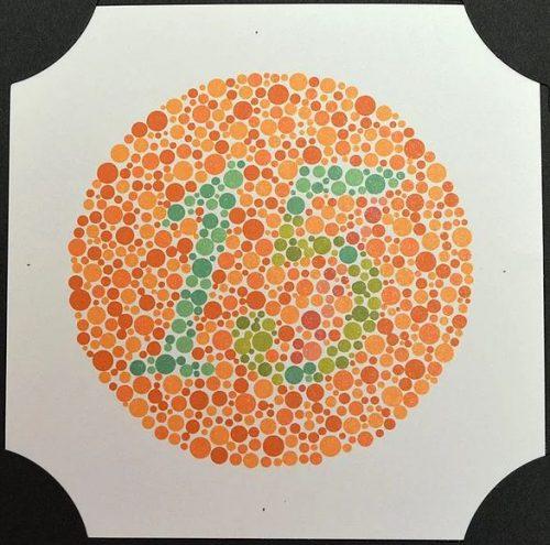 מבחן עיוורון צבעים על שם ishihara